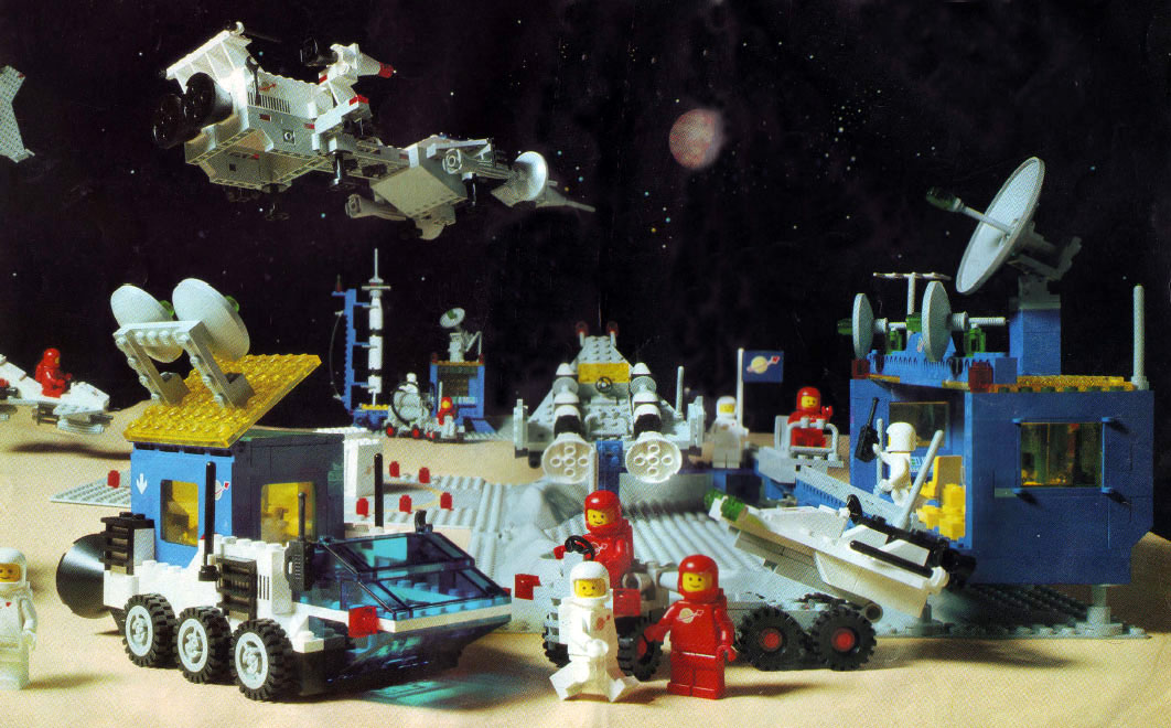 LEGO® Thema Weltraum (Classic Space) Quelle: privat