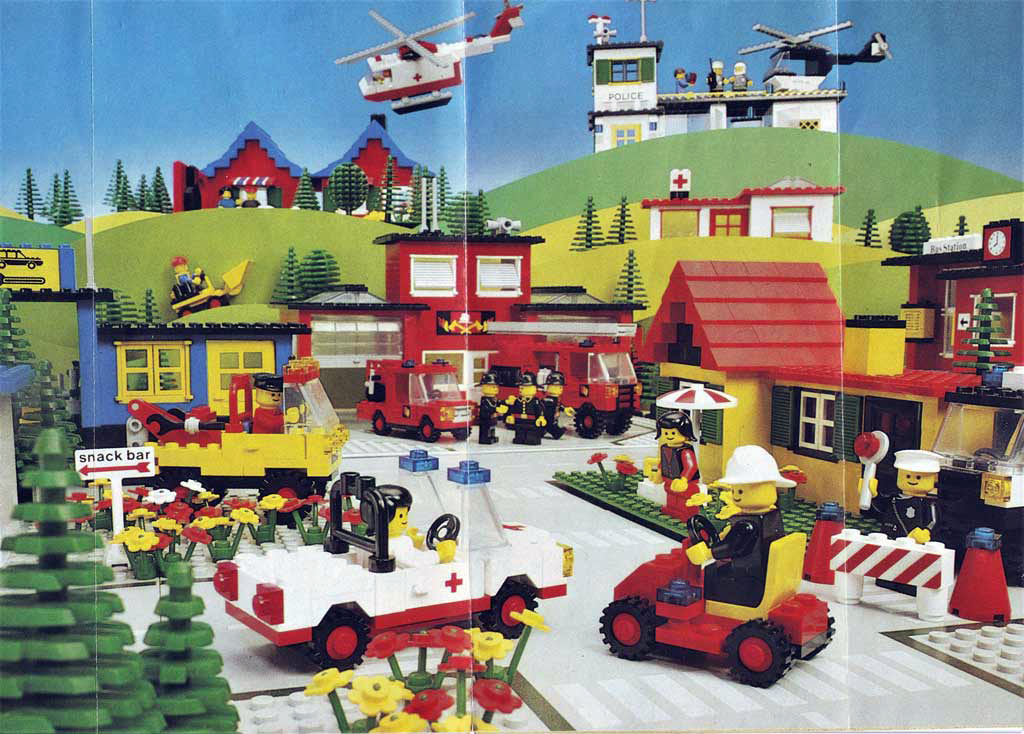 LEGO® Thema - Stadt Quelle: privat